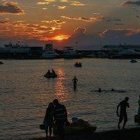 Вечер над Амурским заливом :: Абрис