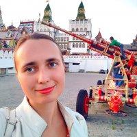 У расписной пушки в Кремле :: Анастасия Белякова