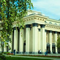 Оперный театр. Новосибирск :: Елена Кузюткина