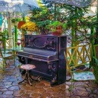 Осень в уличном кафе. :: Вахтанг Хантадзе