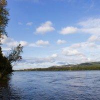 Река Енисей :: Наталья ХХХХХ