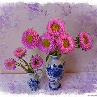 Розовые астры :: Nina Yudicheva