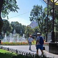 в Городском саду ( 3 ) :: Людмила