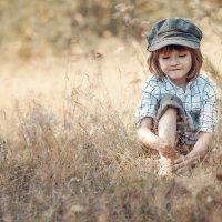 Босоногий мальчуган :: Любовь Махиня