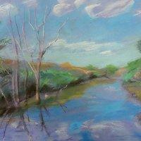 Клевое место. Река Кудьма. :: Andrey Stolyarenko