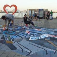 Подготовка к Дню города в Днепре :: Алекс Аро Аро