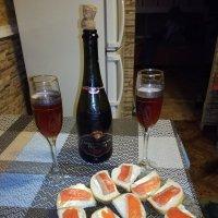 Форель и розовое шампанское :: BoxerMak Mak