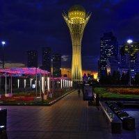 Ночерний Астана... :: АндрЭо ПапандрЭо