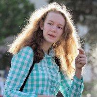 успеть снять сияние волос :: Олег Лукьянов