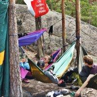 Финская молодежь на отдыхе :: Елена Павлова (Смолова)