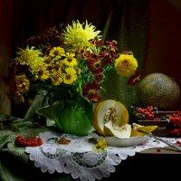 Осенний букет,как прощание с летом... :: Валентина Колова