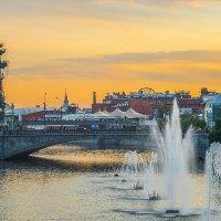 Москва, вид на малый Москворецкий мост :: Игорь Герман