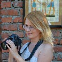 Девушка и Nikon :: Владимир Константинов