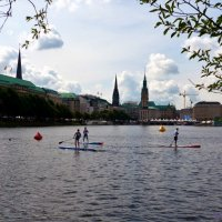 Alster. Hamburg :: Nina Yudicheva