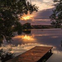 Сентябрьский  закат ... :: Александр Ковальчук