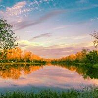 Вечерние рисунки осеннего неба. :: юрий Амосов