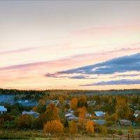 Осень, вечер, деревня... :: Александр Никитинский