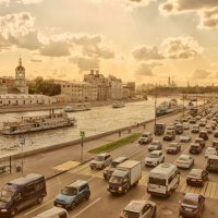 вечерняя набережная :: Александр Шурпаков