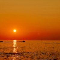 Море на закате :: berckut 1000