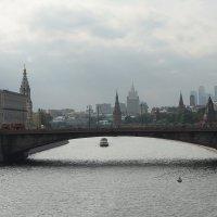 Большой Москворецкий мост :: Максим Ершов