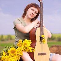 Девушка и гитара :: Оксана Романова