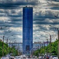 Питер башня Ленэнерго на площади П-Конституции :: Юрий Плеханов