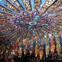 Бисерный храм. Фрагмент интерьера. :: Ольга Голубева
