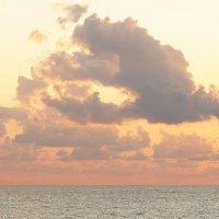 горизонт на закате :: Елена Дапирка