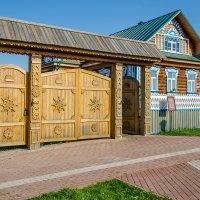 Крестьянский дом :: Андрей Щетинин