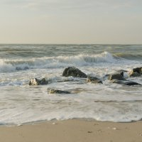 Кирилловка море шторм :: Александр