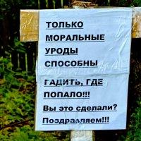 За экологию без натуральных удобрений -:)) :: Александр Запылёнов