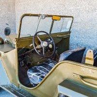 Интерьер салона автомобиля ГАЗ-67 :: Юрий Яловенко