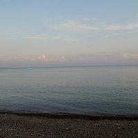 Вечер. Море. Абхазия :: Лиза Ворончихина