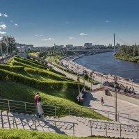 Тюмень, набережная Туры :: Vladimir Dunye