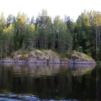 Цветные пятна на серых скалах. :: Vladimir