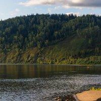 Река Томь, Кемеровская область, р-он Междуреченска :: Владимир Деньгуб
