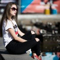 Юлия. городские сюжеты :: Валерий Чернышов