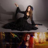 Осенняя чаровница (до и после) :: Veronika G