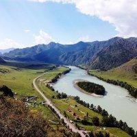 Республика Алтай. Река Катунь :: Андрей Вершинин
