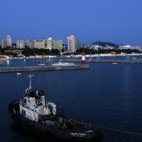 Закат в порту :: Kogint Анатолий