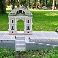 Московская триумфальная арка в Иркутске. :: Валерия Комова