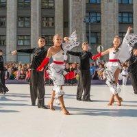 День города. Показательное выступление у здания Государственной Думы (4) :: Борис Гольдберг
