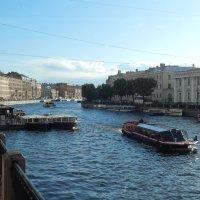 Санкт-Петербург. На Фонтанке. :: Лариса (Phinikia) Двойникова
