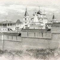Вознесенский Печерский мужской монастырь :: Андрей Головкин