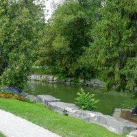 Один из уголков парка Шекспира (г.Стратфорд, Канада) :: Юрий Поляков
