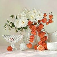 С физалисом и розами. :: alfina