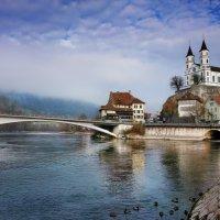 город и крепость Аарбург :: Elena Wymann