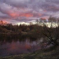 Такой вот закат в апреле. :: Елена Струкова