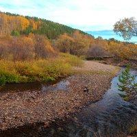 Осенняя река :: Анатолий Иргл