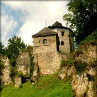 Замок на Песковой Скале.Йоцовский парк в Кракове :: Galina Belugina